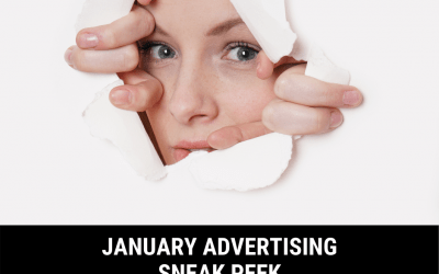 January Advertising Sneak Peek